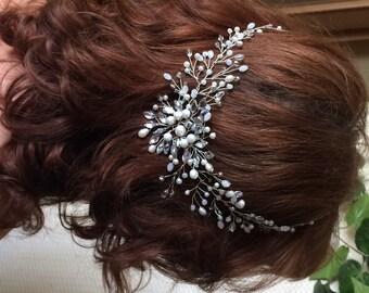 Bridal Headpiece, Bridal Head Piece, Bridal Hair Piece, Wedding Hair, Bridal Hair Accessory, Bridal Hair Vine