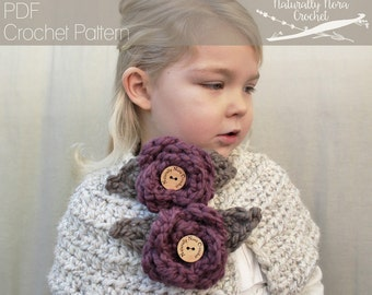 Crochet Pattern: The Robyn Capelet -Toddler, Child, & Adult Sizes- flower, leaf, chunky, shawl, romantic