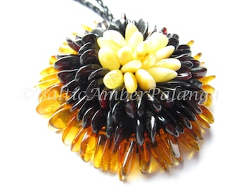 Baltic Amber Pendant/Brooch