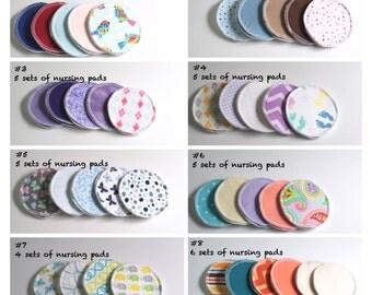 Choose your set of Nursing Pads - Breast Pads