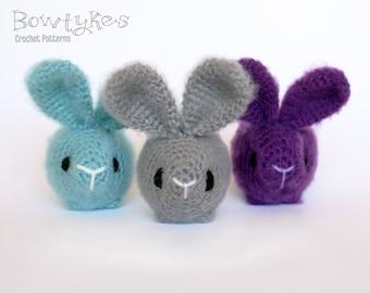 Roly Poly Bunny CROCHET PATTERN instant download - amigurumi rabbit