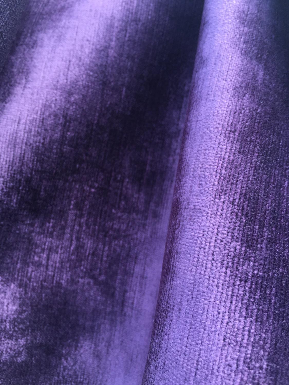 Sale vintage scalamandre velvet fabric remnants lined for Fabric remnants