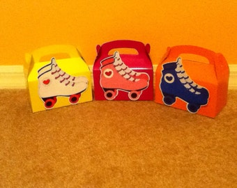 Cute Roller Skate Boxes Set Of Five