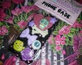 SALE! iPhone5/5s Halloween Creepy Skull Bone Frankenstein Kawaii Decoden Phone Case