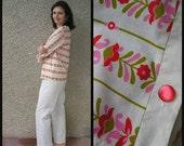 ON SALE: Vintage 70s 80s Cotton Pajama size S