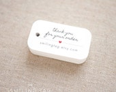 Thank you for Your Order Etsy Shop Product Tags Personalized Gift Tags - Etsy Shop Hang Tags- Etsy Shop Labels - Set of 40 (Item code: J574)
