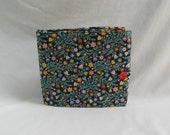 Circular Knitting Needle Case. Flower fabric.