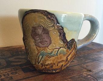 Dolly Parton Mug / Made in Nashville / Cup of Ambition / Dolly / Dolly Parton / Nashville