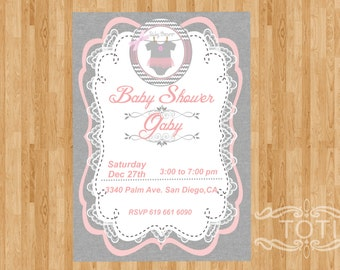 Baby (Girl) | Baby Shower [DIGITAL FILE ONLY]