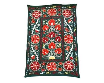 Silk Handmade Modern Suzani ES114