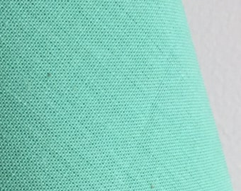 Organic Solid Fabric in Mint from the Cirrus Solids Collection from Cloud9 Fabrics. - ONE FAT QUARTER Cut
