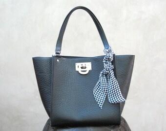 Polka Dot Scarf, Handbag Scarf, Purse Scarf, Bun Scarf, Wrist Scarf, Neck Bow, Twilly, Hat Scarf, Skinny Scarf, Gift for Her, Ready to Ship
