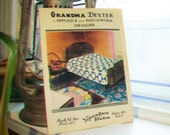 Grandma Dexter Applique and Patchwork Designs Quilt Patterns Vintage 1920s