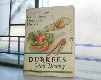 Vintage 1931 Calendar Durkee's Salad Dressing