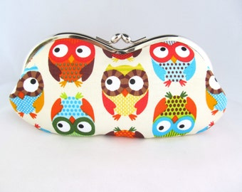 Eyeglass Case - Eye Glass Case - Sunglasses Case - Cute Glasses Case - Sunglass Case - Glasses Case Kiss Lock