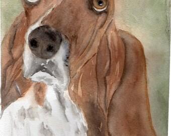 Watercolor Dog Portraits