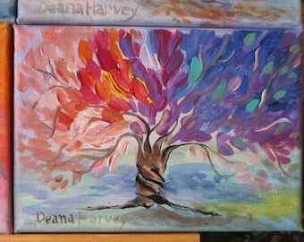 Tree of Life Paintings on Canvas