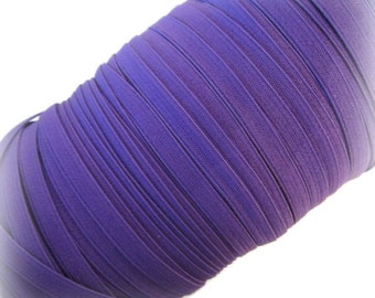 "1/4"" Purple Elastic. 5 Yards"