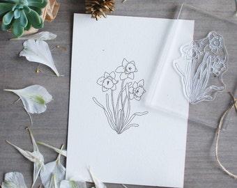 Botanical stamps, clear stamps, flower stamp, clear stamps for planners, clear stamp sets, stamp set, scrapbook stamps, wedding scrapbook