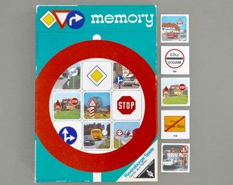 Vintage 1970s German memory game