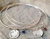 Best Friend Bracelets - Peanut Butter and Jelly Bracelet - Sisters Bracelets - Set of TWO - Sister Gift - BFF Bracelets - Best Friend Gifts