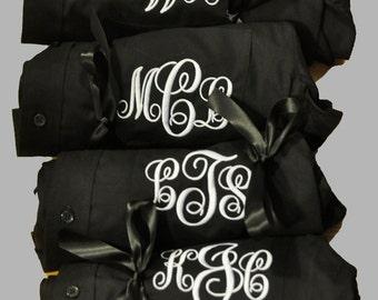 Bridal Party Shirts, Wedding Day Shirts, 5 Bridal Party Shirts, Button Down Shirt, Monogrammed Bride Shirt, I Do Shirt, Getting Ready Shirt