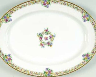 Narcissus Haviland Large Serving Platter 12 Inch