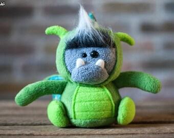 Green Dragonsquatch  Plush