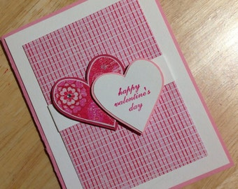 Card - Valentine - Two Hearts