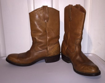 Redwing size 8.5 vintage cowboy boots