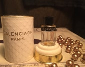 Quadrille by Balenciaga 1/2 dram Pure Parfum Splash Original Formula w/ box empty