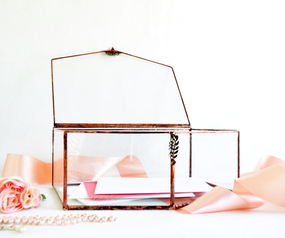 Wedding Gift Envelope Holders : Wedding Card Box, Envelope Holder, Glass Box, Wedding Gift, Gift For ...