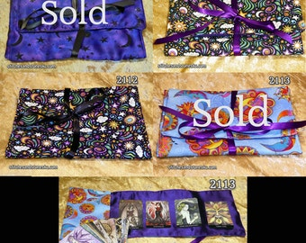 Tarot/Oracle Card Bag-  Celestial Designs