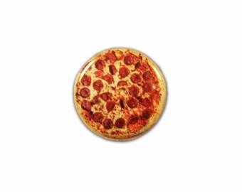 1 Inch Pinback Button Original - Pepperoni Pizza