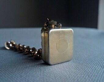30% OFF Vintage Gold Swiss Music Box Bracelet - Wind Up Music Box Charm - Probably Reuge