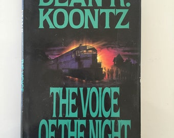 The Voice of the Night by Dean R. Koontz (1991 Hardcover)