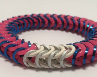 D.Va Inspired Stretch Box Chain Chainmaille Bracelet