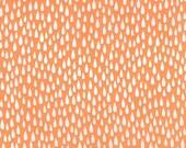 Paintbox Basics - Raindrop in Mango - Elizabeth Hartman for Robert Kaufman - AZH-15875-146 - 1/2 Yard