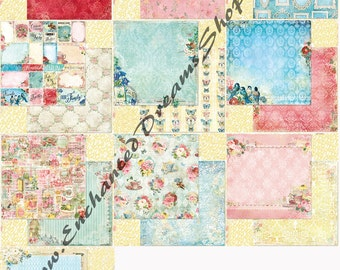 Blue Fern Studios Frolic Paper Collection