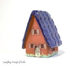 Little House with Cobalt Roof
