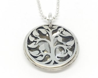 Tree of Life Locket // Personalized