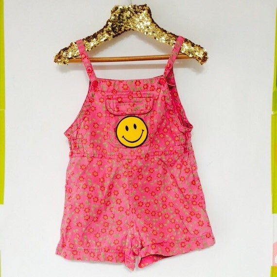 SPRING 2-3 Years Kids Vintage Children's Babies Cotton Overall Onesie Jonjon Upcycled Cotton MH