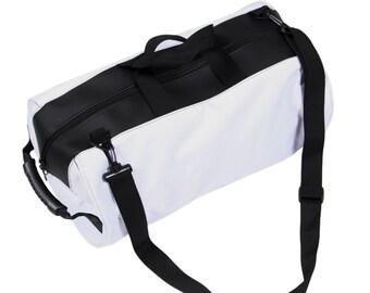 Weekender/Gym bag -white