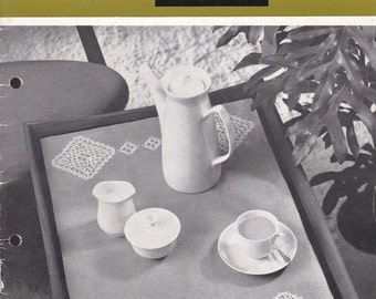 ON SALE Norwegian Crochet  - Vintage 1960s Crochet Booklet
