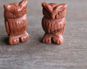 Goldstone Stone Owl F185