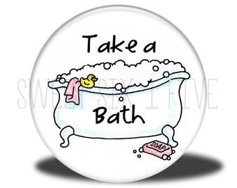 Take a Bath - Chore Magnet