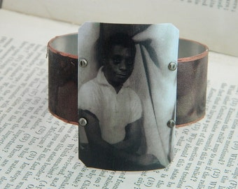 James Baldwin bracelet mixed media jewelry history African American