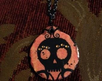 Inner Peace Skullie Necklace