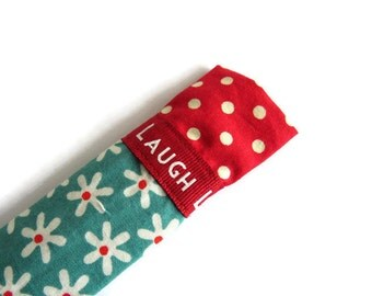 Protective Sleeve For Emery Board - Nail File Case - Emery Board Cover - Nail File Cover - Fabric Emery Board Case