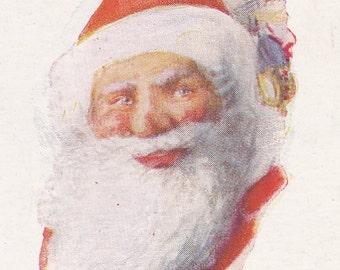"Ca. 1920's ""Santa Claus"" Christmas Greetings Postcard - 2318"